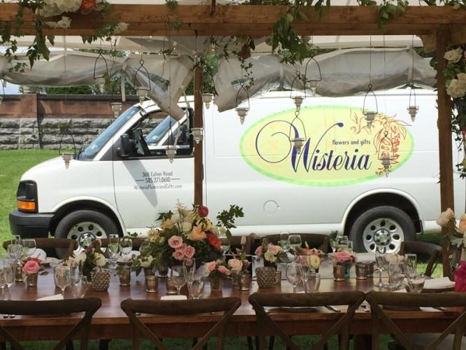 Wisteria Delivery Van