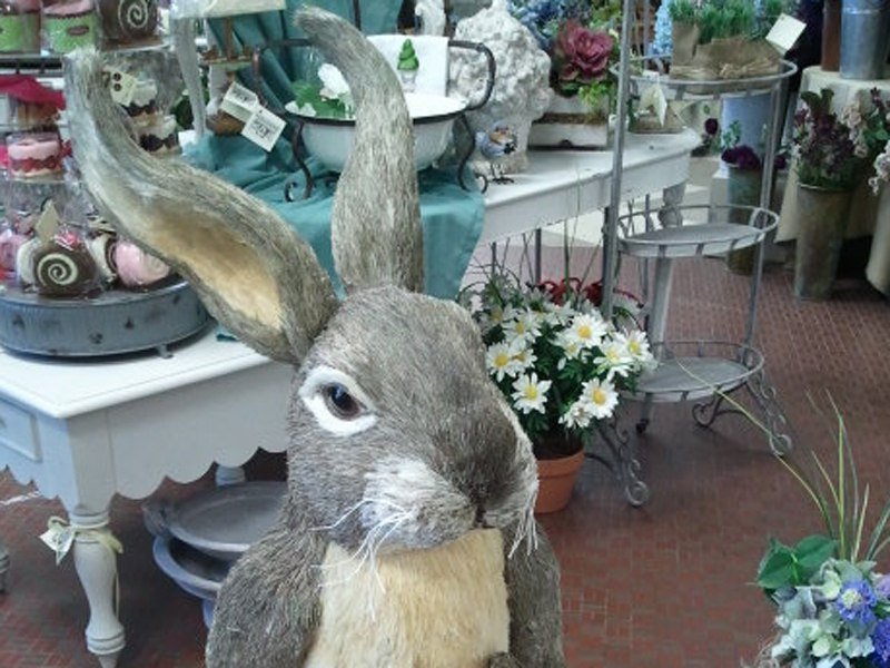 Easter rabbit decoration