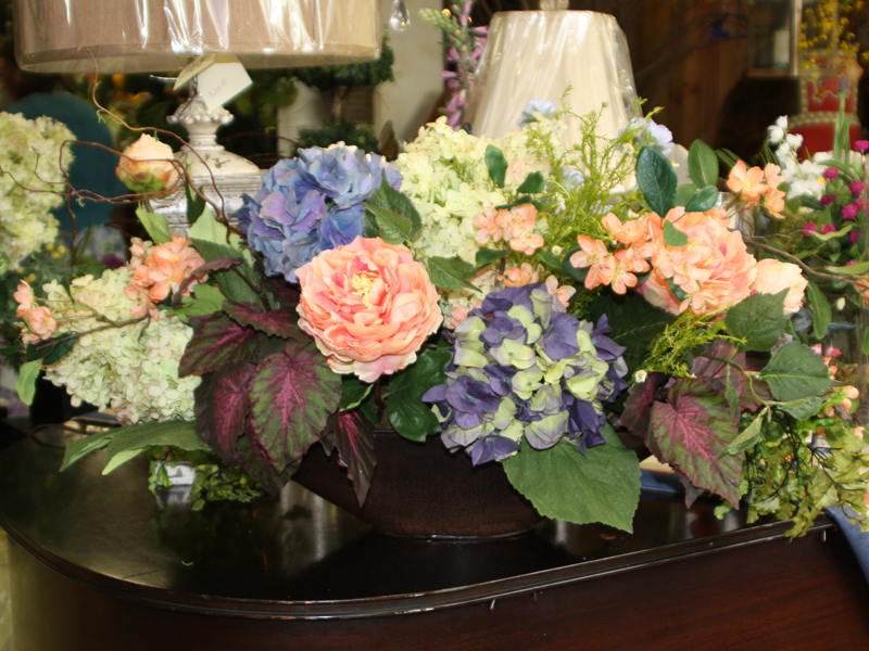Silk Floral Arrangement
