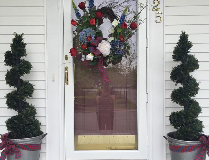 silk-flower-wreath-entrance