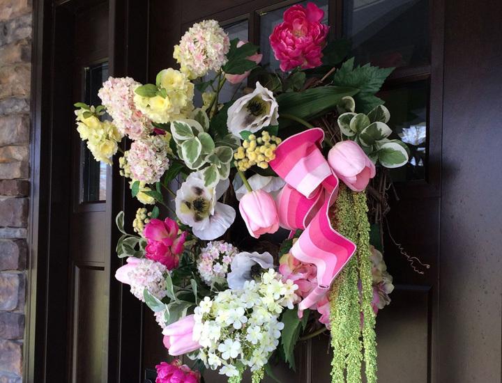silk-flower-wreath-spring