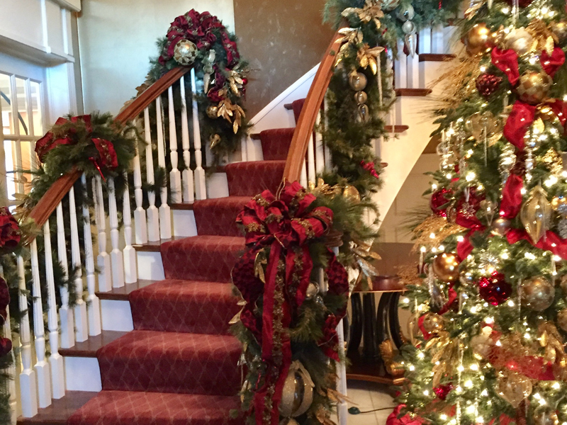 staircase-red-ribbon