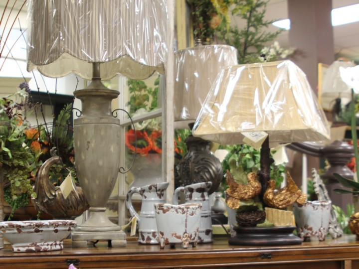 Home Decor Lamps And Pottery