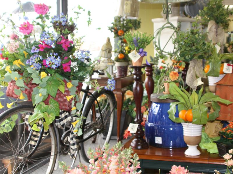 Home decor gifts silk flower arrangements