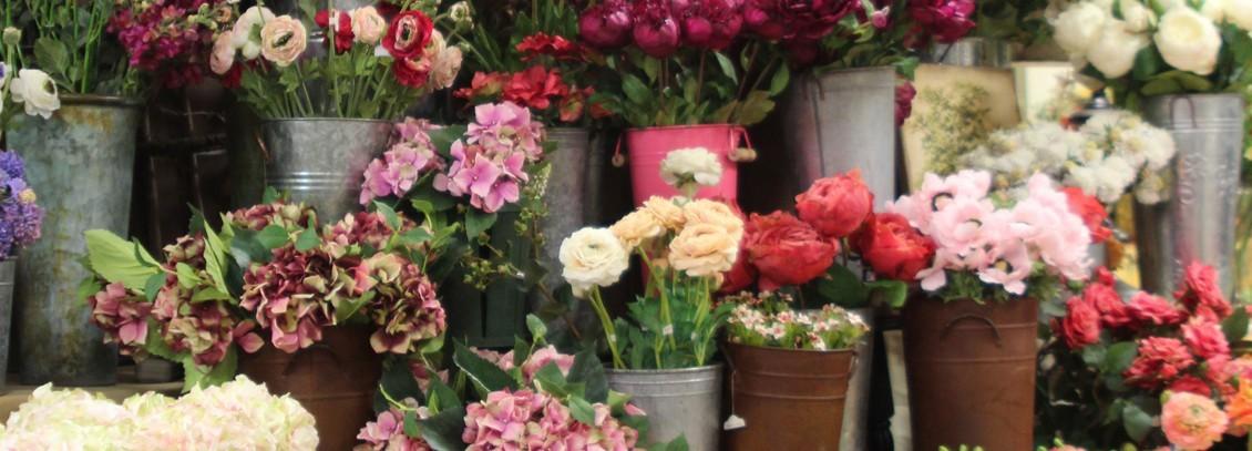 Silk flower collection