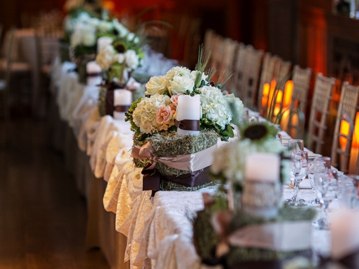 Photo of a Rustic Chic Wedding table