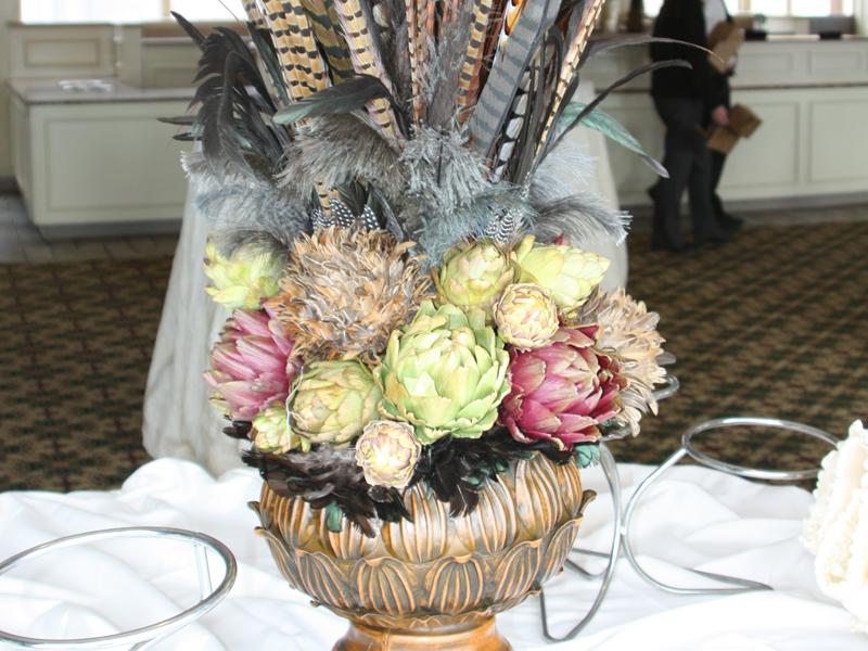 Vintage style wedding table