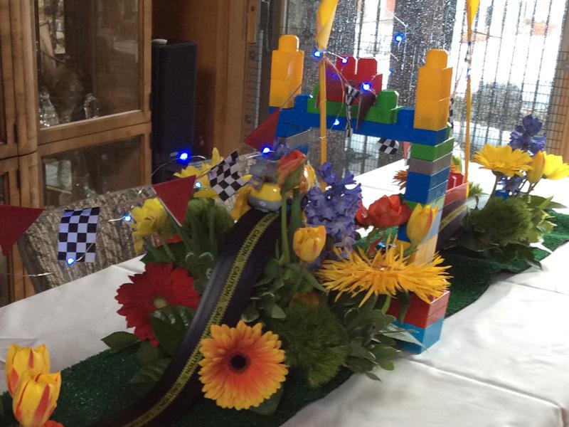 Boys Birthday Table Decorations