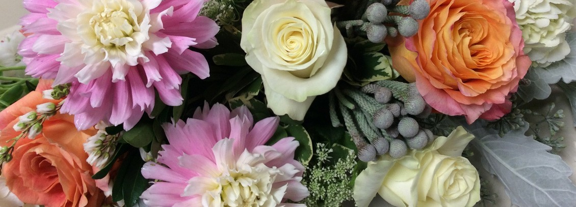 Close up of fresh flowers