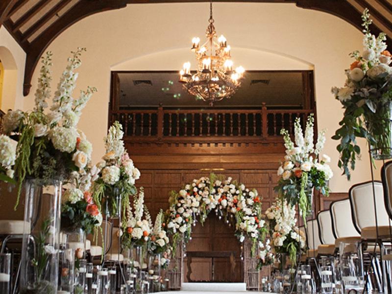 English countryside wedding chapel