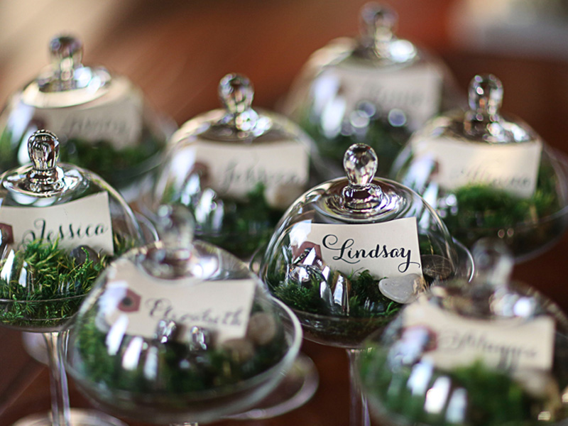 English countryside wedding favors
