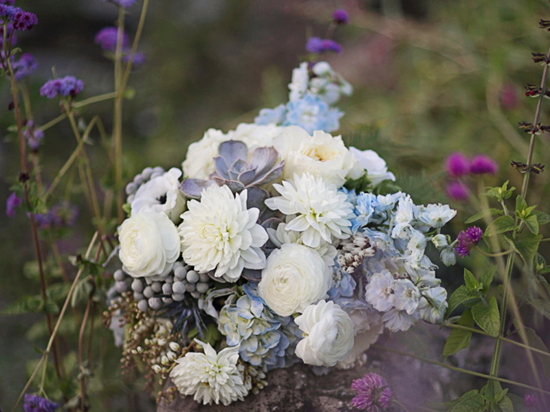 Rustic dream wedding bouquet
