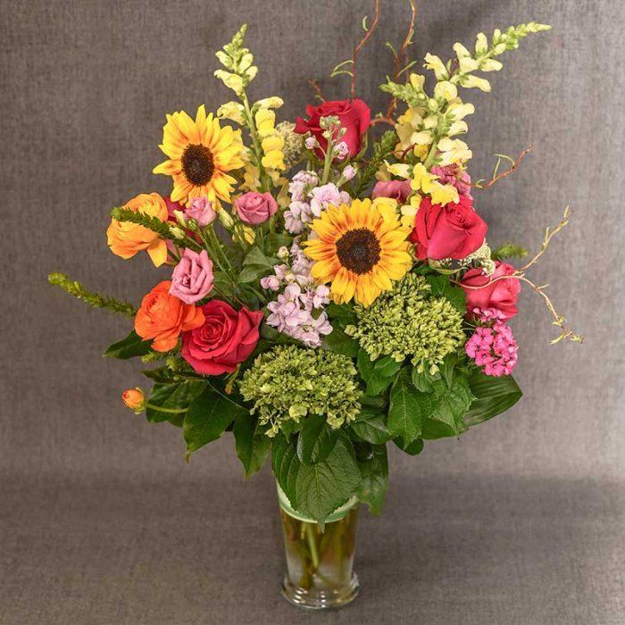 Garden Delight flower arrangement