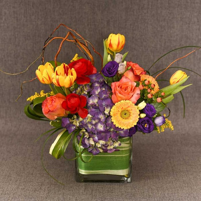 Spring Blooms floral arrangement