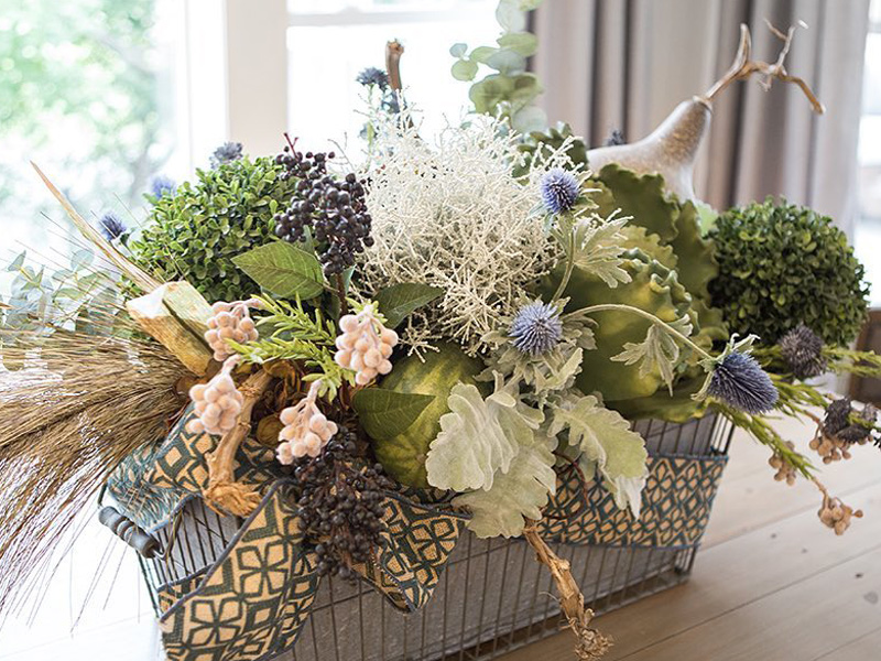 Silk Floral Arrangements Wisteria Flowers And Gifts
